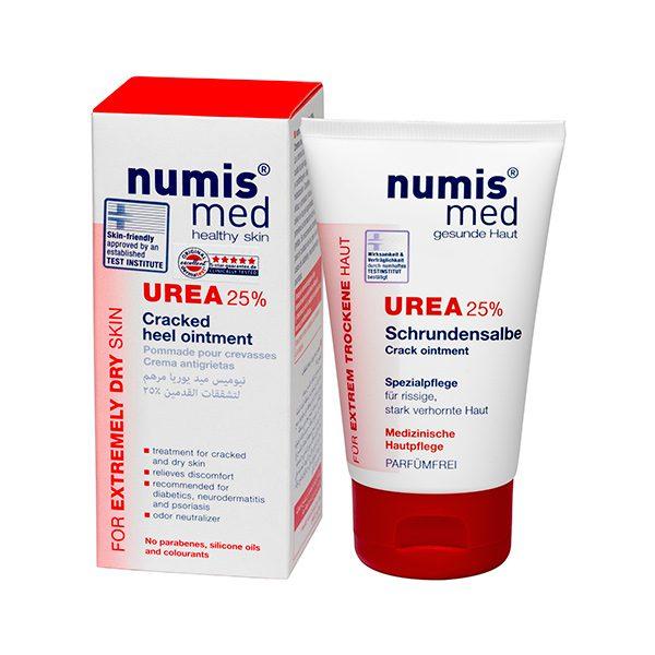 Крем для пяток с 25 % мочевиной, 50 мл купить Numis Med с доставкой Numis Med c заказать по России и регионам