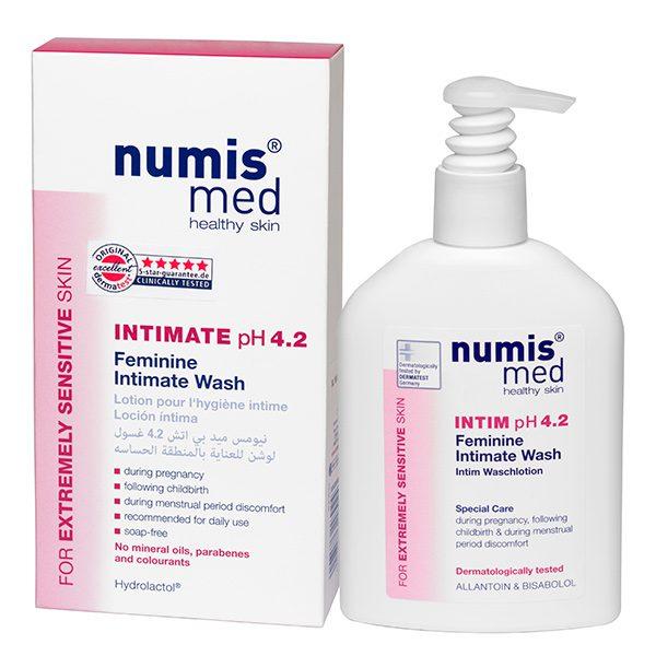 Моющий гель для интимной гигиены у женщин рН 4,2, 200 мл купить Numis Med с доставкой Numis Med c заказать по России и регионам