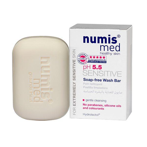 Мыло туалетное твердое «СЕНСИТИВ рН 5,5», 100 г купить Numis Med с доставкой Numis Med c заказать по России и регионам