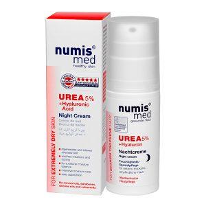 Ночной Крем с 5 % мочевиной и гиалуроновой кислотой, 50 мл купить Numis Med с доставкой Numis Med c заказать по России и регионам