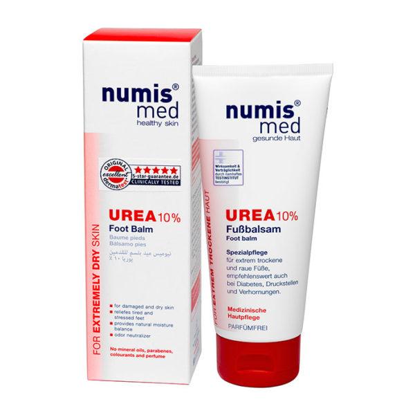 NumisMed - Бальзам для ног с 10% мочевиной, 100 мл