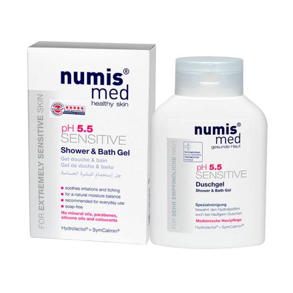 NumisMed - Гель для душа и ванны «СЕНСИТИВ рН 5,5», 200 мл