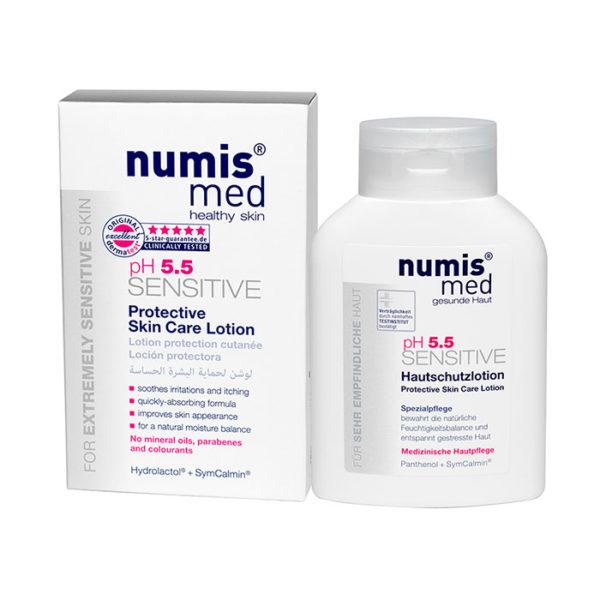 NumisMed - Защитное молочко для кожи «СЕНСИТИВ рН 5,5», 200 мл