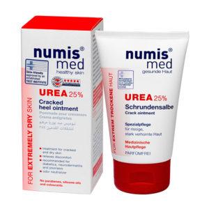 NumisMed - Крем для пяток с 25% мочевиной, 50 мл