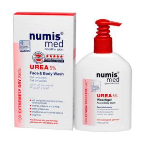 NumisMed - Моющее средство для лица и тела с 5% мочевиной, 200 мл