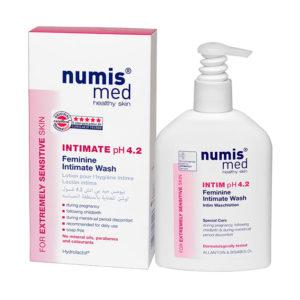 NumisMed - Моющий гель для интимной гигиены у женщин рН 4,2, 200 мл